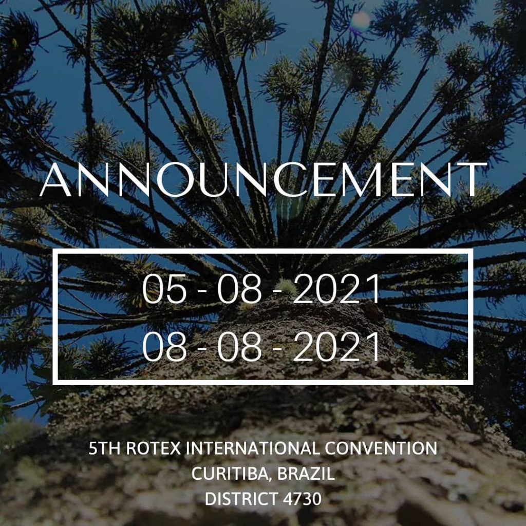 COVID-19 Rotex International Convention 2020 Announcement